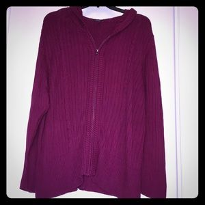 Torrid sz 4 (no tag) hooded sweater